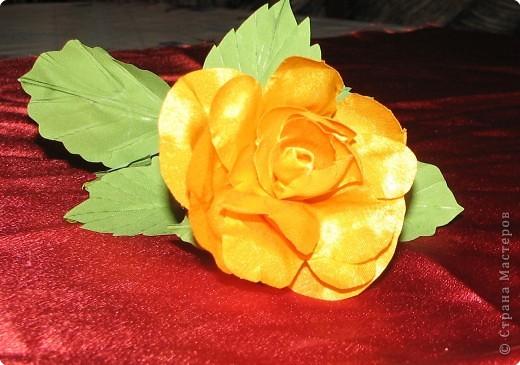 Нарядные георгины, изысканные розы,  и многие другие цветы можно сделать своими руками из ткани!!! фото 5