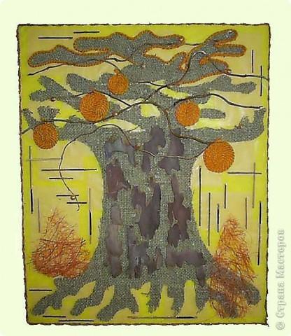 Коллаж: Дерево