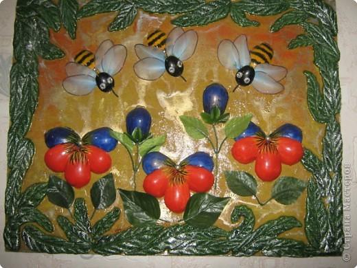 Картина своими руками из фруктов