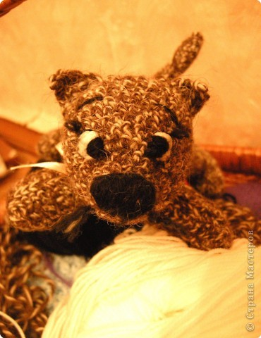 Вязание крючком: котька фото 1
