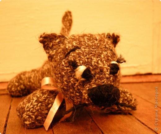 Вязание крючком: котька фото 2