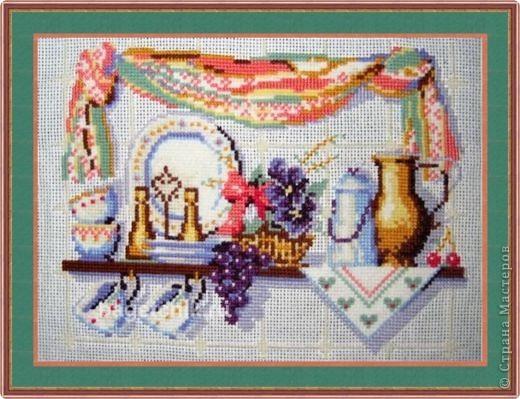 Вышивка крестом: Вышивки для кухни фото 2