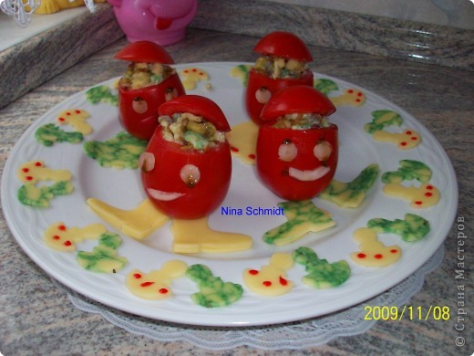 Фаршированные помидоры. фото 1