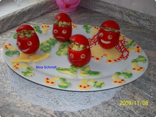 Фаршированные помидоры. фото 2