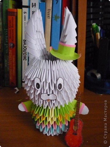 Оригами модульное: Отдых друзей. фото 2