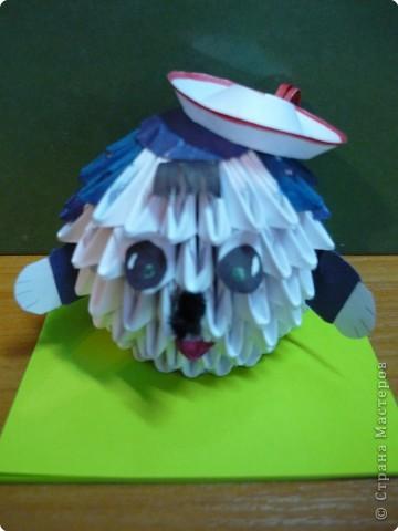Оригами модульное: Отдых друзей. фото 3