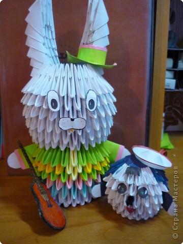Оригами модульное: Отдых друзей. фото 1