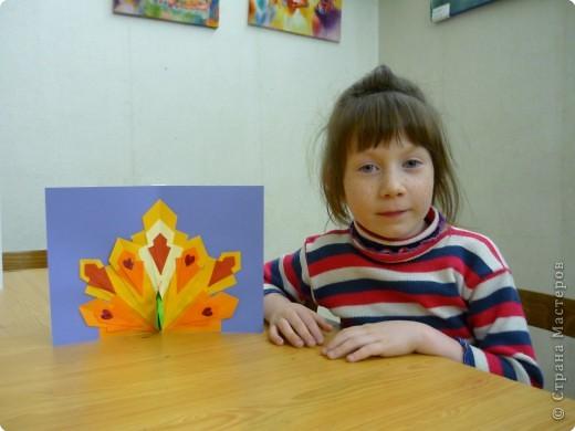 Оригами: Павлины фото 5