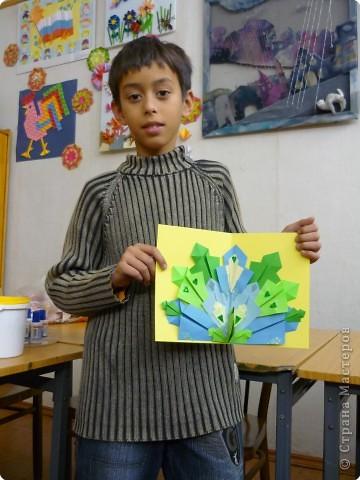 Оригами: Павлины фото 6