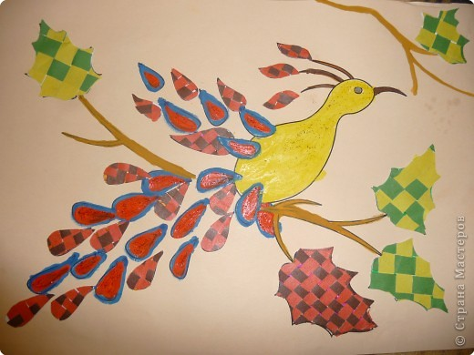 Птица чудес! Арина 6 лет.