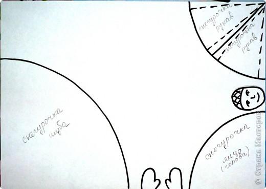 Вот такую мы изваяли ло ли Снегурку, то ли Снежную королеву. Елена Базарова, спасибо за идею отличную. Мы её развиваем на все 100%  Ребенок просто счастлив!!!! фото 4