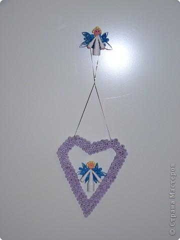 Квиллинг: Ангел в В сердце