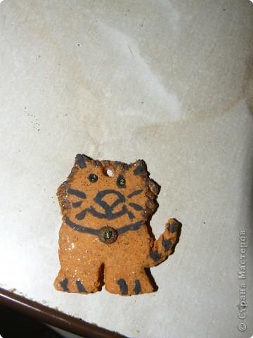 котик на ёлку