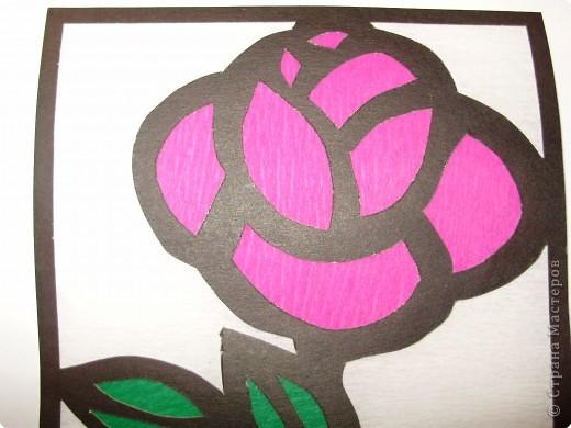 Витраж: Роза фото 3