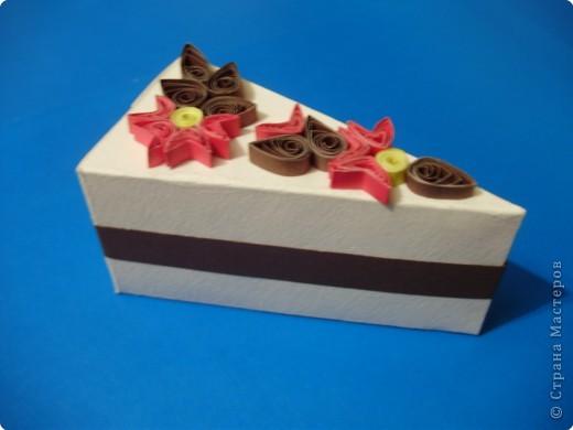 Квиллинг: Вот и у меня есть дольки тортика!!!! фото 2