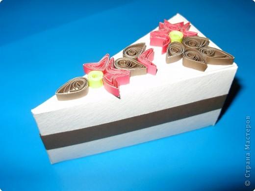 Квиллинг: Вот и у меня есть дольки тортика!!!!