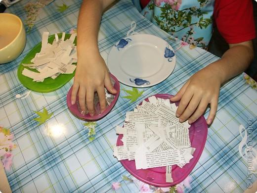 Как сделать тарелку своими руками из бумаги