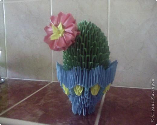 Оригами модульное: ну, это кактус