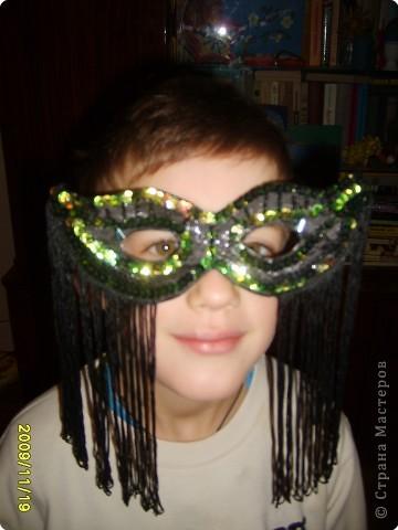 Не определена: Карнавальная маска фото 2
