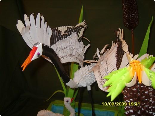 Оригами модульное: На пруду фото 5