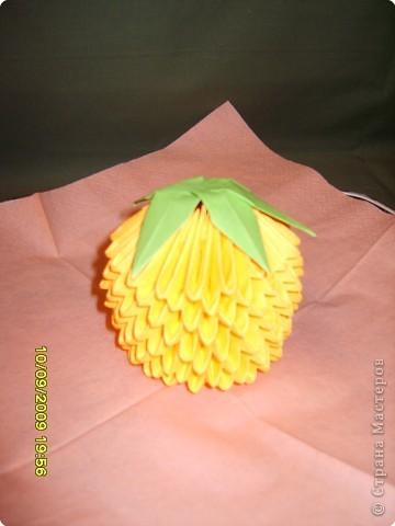 Оригами модульное: Фрукты фото 6