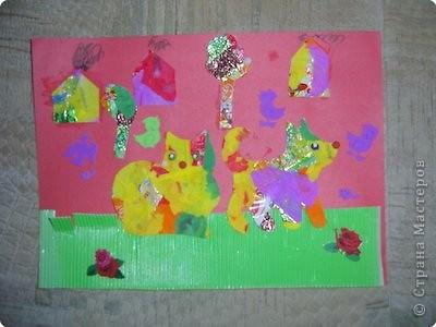 Городсая вариация: кошка, собака, домики, деревья (ждя тех, кто не узнал по фигуркам)   фото 1