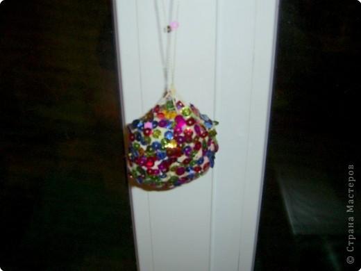 Новогодний шарик. Покрупнее вид. Спасибо, Анат!!!! фото 2
