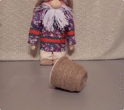 Домовенок-хлебосол. В идеале неплохо бы пшеничку, но пшенка тоже ведь была и есть на Руси не последним по ценности зерном. фото 42