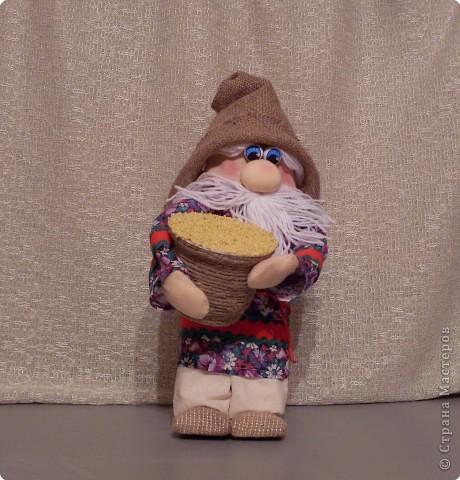 Домовенок-хлебосол. В идеале неплохо бы пшеничку, но пшенка тоже ведь была и есть на Руси не последним по ценности зерном. фото 43