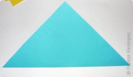 Для работы приготовьте шесть квадратов: со сторонами 15 см - 1, со сторонами 5 см - 1,  со сторонами 4 см - 2,  со сторонами 3 см - 2 фото 3