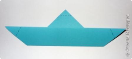 Для работы приготовьте шесть квадратов: со сторонами 15 см - 1, со сторонами 5 см - 1,  со сторонами 4 см - 2,  со сторонами 3 см - 2 фото 4