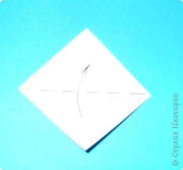 Для работы приготовьте шесть квадратов: со сторонами 15 см - 1, со сторонами 5 см - 1,  со сторонами 4 см - 2,  со сторонами 3 см - 2 фото 6