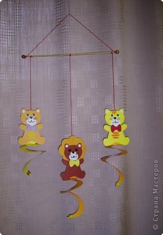 """игрушки-мобиле """"тигрята"""""""