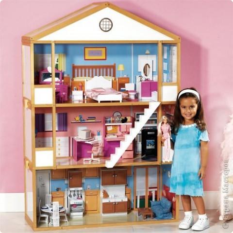 Согласитесь, кто из девочек, да и сами взрослые не отказались бы, не хотел иметь такой вот домик? фото 1
