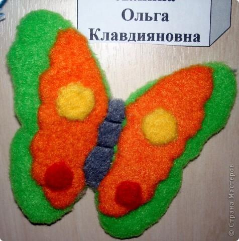 Ну вот и свершилось! За окнами - снег, а у нас в детском саду всеми цветами радуги переливаются крылья бабочек!  фото 11