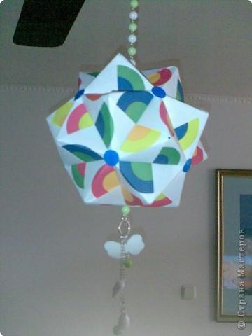 Кусудама: радуга фото 2