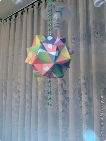 Кусудама: радуга фото 1