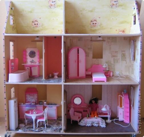 Согласитесь, кто из девочек, да и сами взрослые не отказались бы, не хотел иметь такой вот домик? фото 3