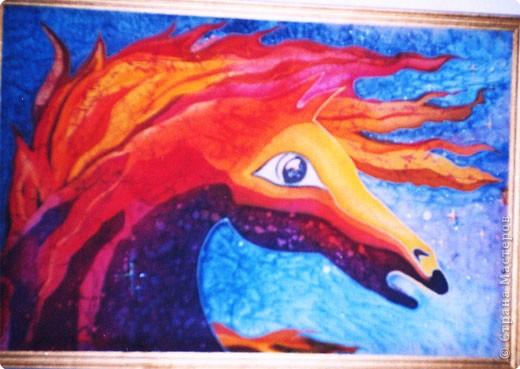 Батик: Конь-огонь