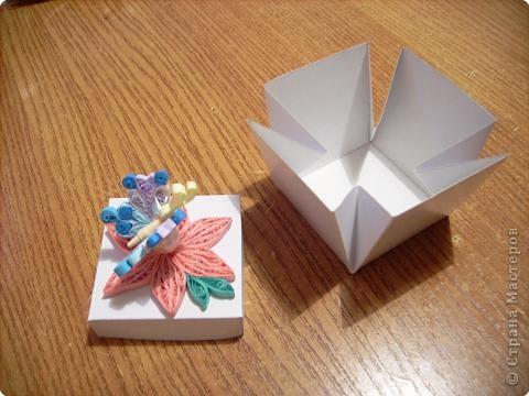 Это крышка коробочки, в которую можно положить подарок. фото 4