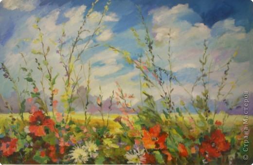 Рисование и живопись: воспоминания о лете