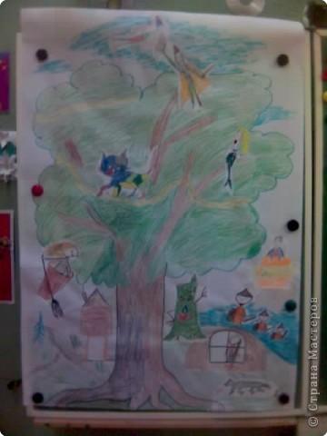 Дети очень любят рисовать, заполнять пространство цветом - дай только мелки(карандаши, пастель и т.д и лист или поверхность) фото 5