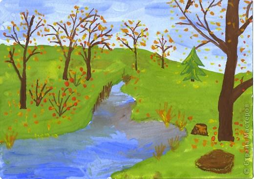 Рисование и живопись: Унылая пора...