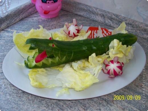 Карвинг: Украшения блюд. фото 8