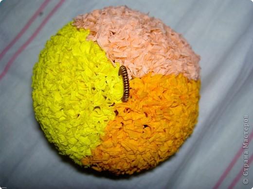 Так выглядит готовый шарик. фото 3