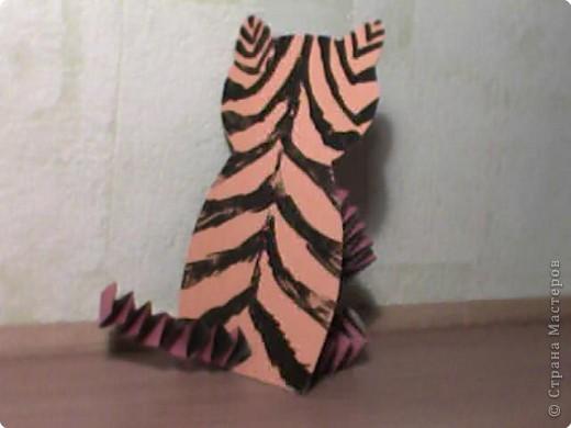 Аппликация: Тигрище фото 3