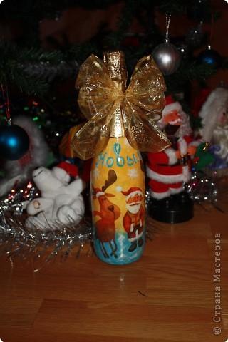 Декупаж: новогодний подарок фото 1