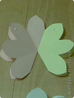 открытка -объемные цветы, фото 13