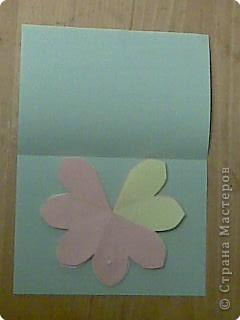 открытка -объемные цветы, фото 16