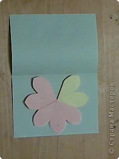 открытка -объемные цветы, фото 17